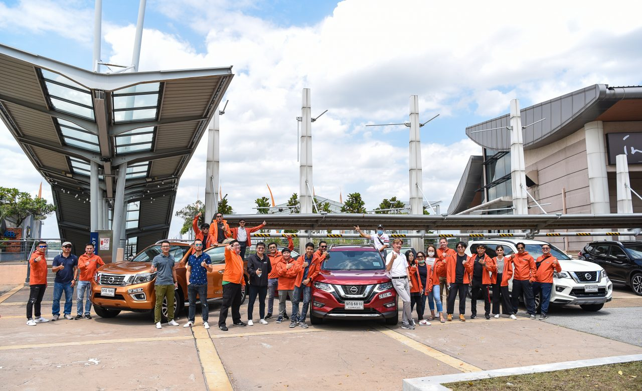 Nisson Go Anywhere in Malaysia Test Drive group shot