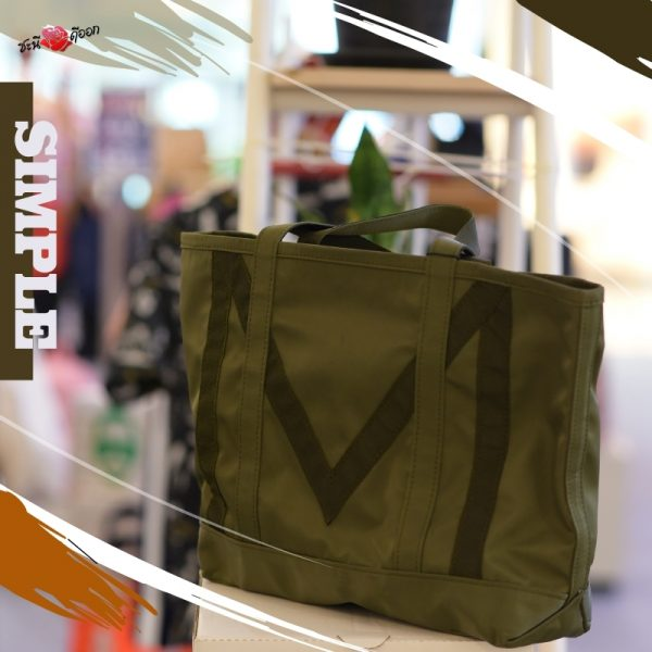 moo 20201 COLLECTION Green M Tote bag