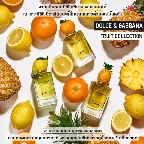 DOLCE & GABBANA FRUIT COLLECTION all product Perfume