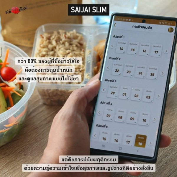 design Application Saijai Slim