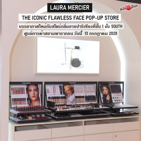 LAURA MERCIER The iconic Flawless Face Pop-up Store PIC 1